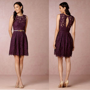 ANTHROPOLOGIE BHLDN Hitherto Kinsley Lace Dress